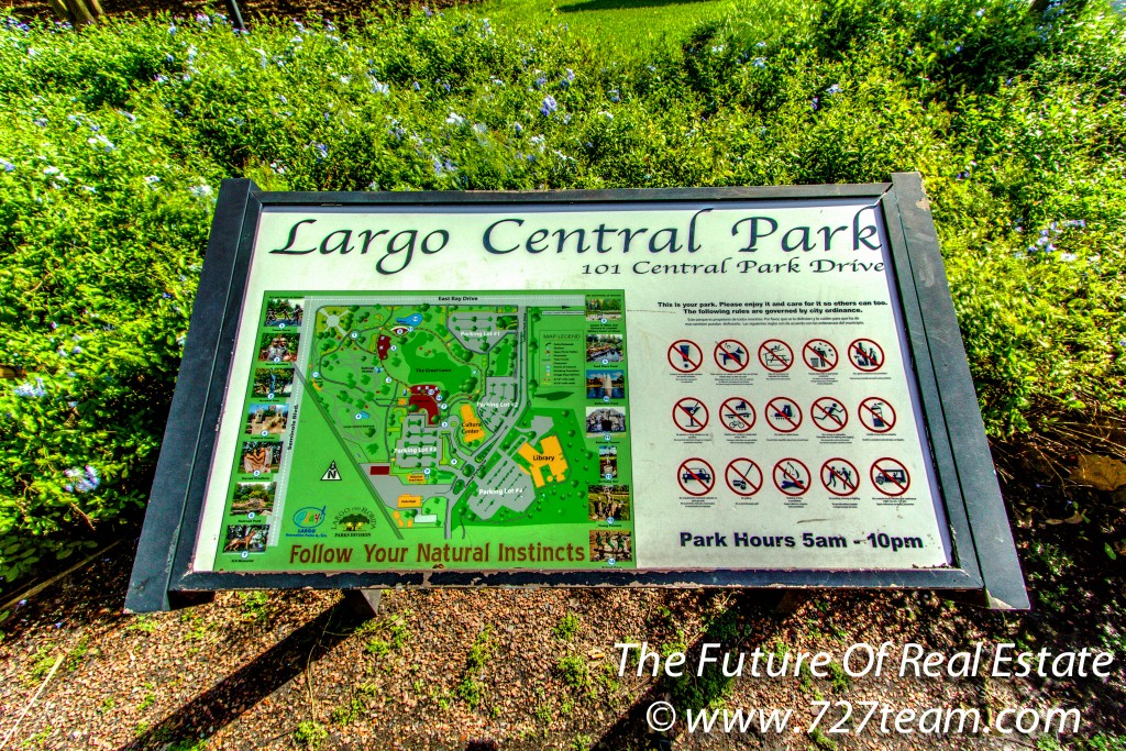 Largo Central Park Map