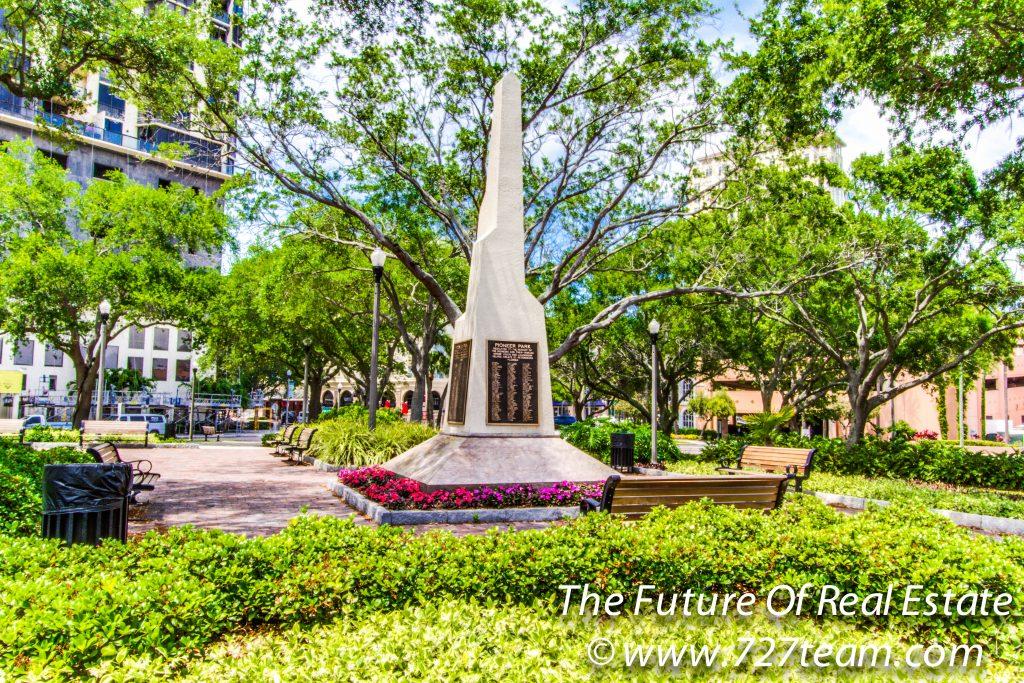 Pioneer Park Monument