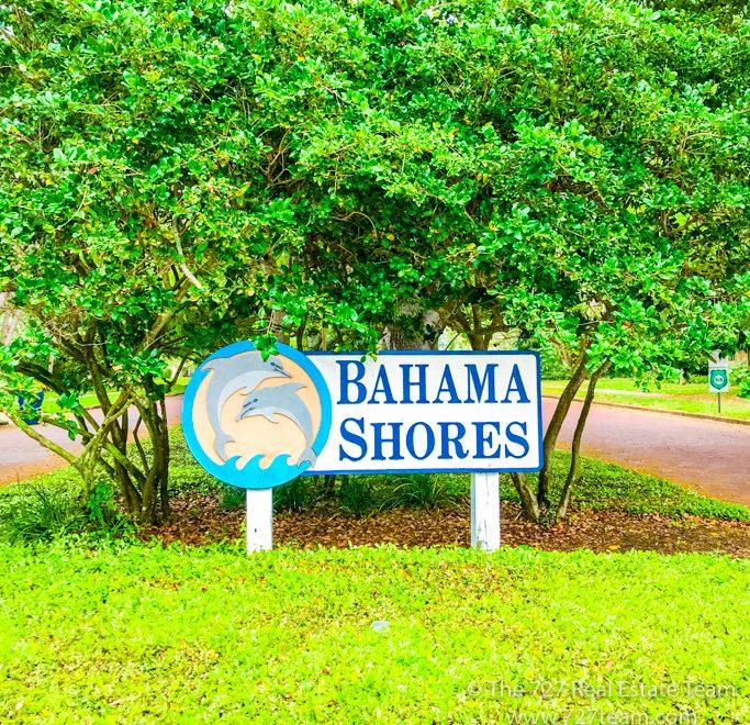 bahama shores sign