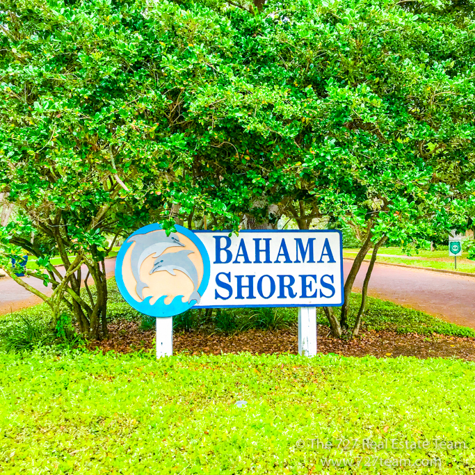 bahama shores sign