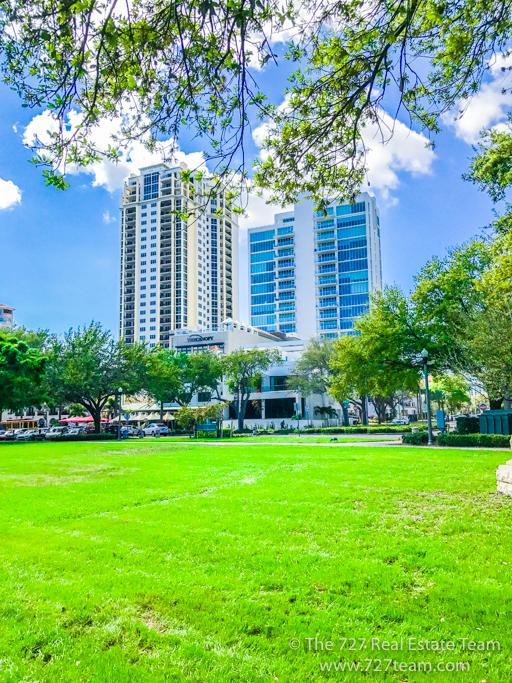 Downtown condo parkshore bliss