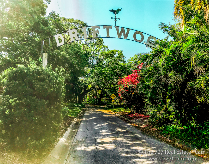 driftwood entrance