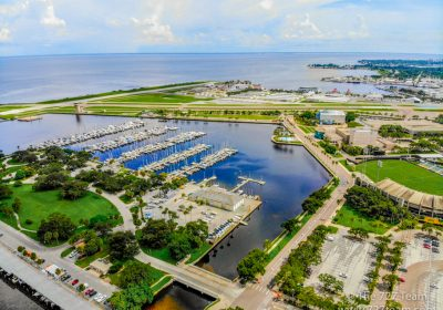 downtown dtsp waterfront marina airport