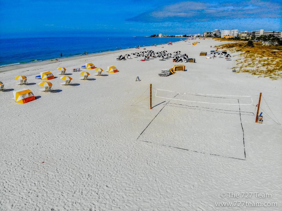 St. Pete Beach in front of Undertow Beach Bar