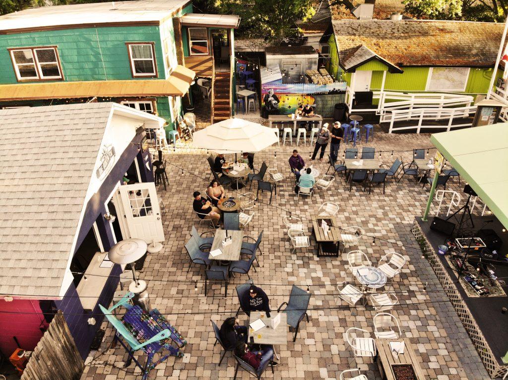 Gulfport courtyard